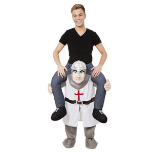 Crusader-Knight-piggyback-maskeraddräkt