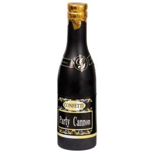 Konfetti champagne flaska