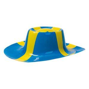 Plasthatt Sverigeflagga