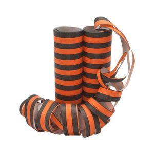 Serpentiner svart orange