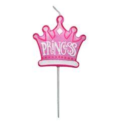 Tårtljus prinsesskrona