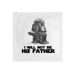 Kondom – I will not be his father