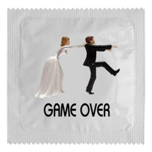 Kondom – game over