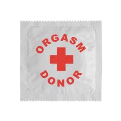 Kondom orgazm donor
