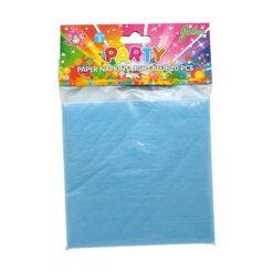 Servetter blå 24 pack