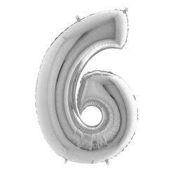 Sifferballong-silver-41cm-nr6