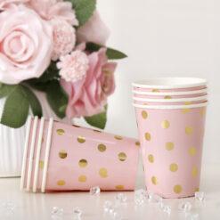 Mugg prickar rosa 10 st