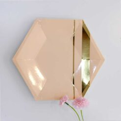 Tallrik rosé diamant