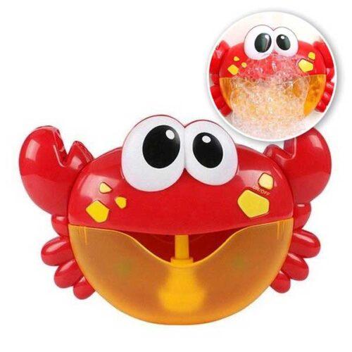 Musikalisk krabba med bubblor för bad crabbly