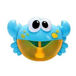 Köp badkrabba som skapar såpbubblor ljusblå