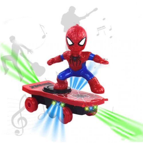 Superhjälte på skatebord