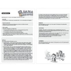 Balansmattespel - Räkna med apan instruktioner