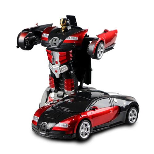 Bugatti rött
