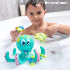 Flytande bläckfisk med ringar Ringtopus InnovaGoods 6 Delar Gadget Kids