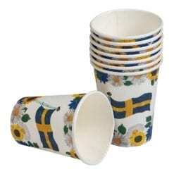 Muggar Sverige med blommor
