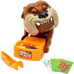Hundspelet akta dig för arga hunden