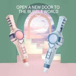 Bubbelmaskin för såpbubblor med rök