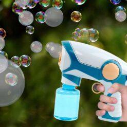 Modell i form av leksakspistol – blå