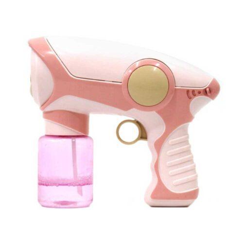 Modell i form av leksakspistol – rosa