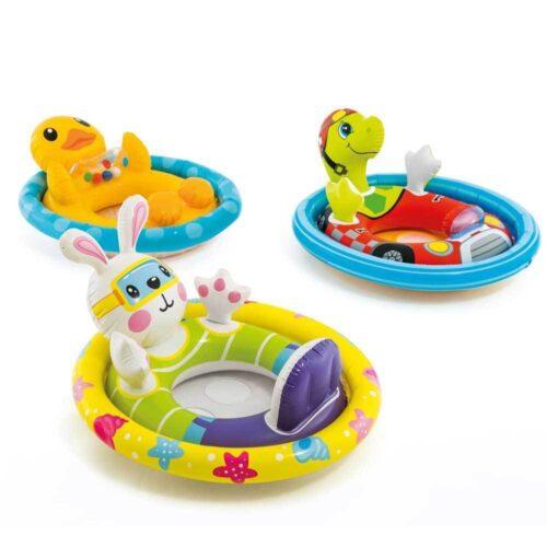 Animerad söt badring för småbarn