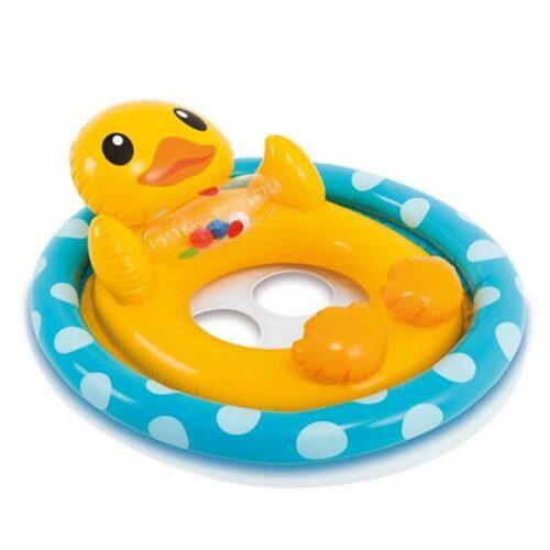 Animerad söt badring för småbarn - ankan