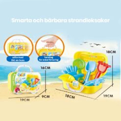 Smarta och bärbara strandleksaker