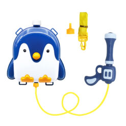 Sommarleksak vattenpistol med animerad ryggsäck Pingvin