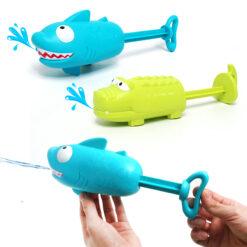Sommarleksak vattenpistol haj och alligator