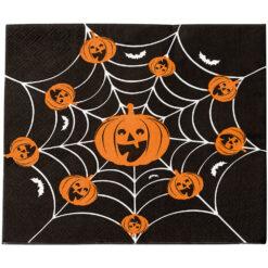 Halloween servetter pumpa