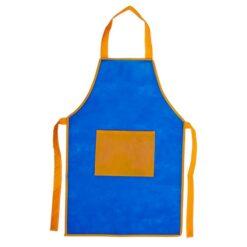 Förkläde Barn One size - blå