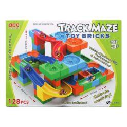 Byggklossespel Track Maze 128st