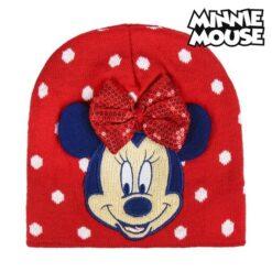 Hatt Minnie Mouse röd