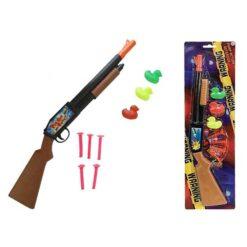 Pistol med Pilar Duck Svart