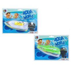 Båt aqua world gul
