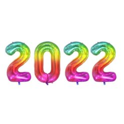 ballongkit 2022 Regnbågsfärgad