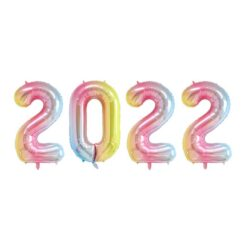 Ballongkit 2022 Regnbågsfärgad pastell